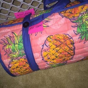 Betsey Johnson pineapple beach mat
